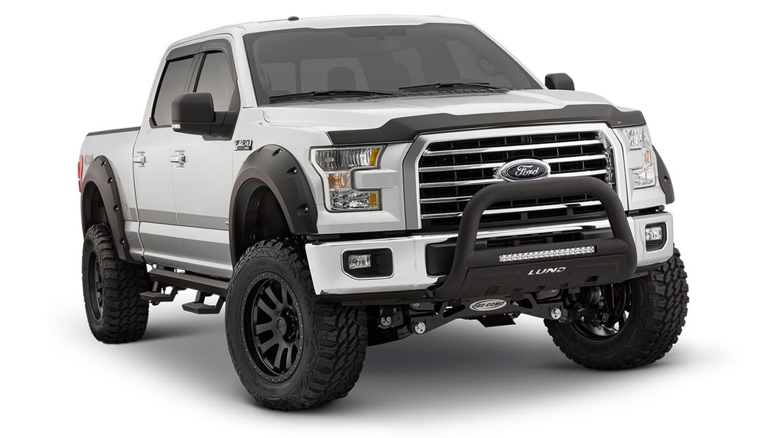 Ford Truck with loaded accesories